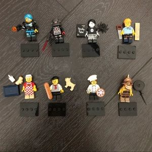 Lego bundle - minifigures and other things